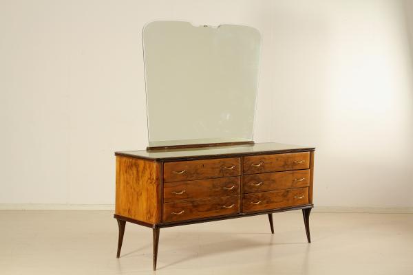 Cassettone anni 40 mobilio modernariato for Como con specchio anni 40