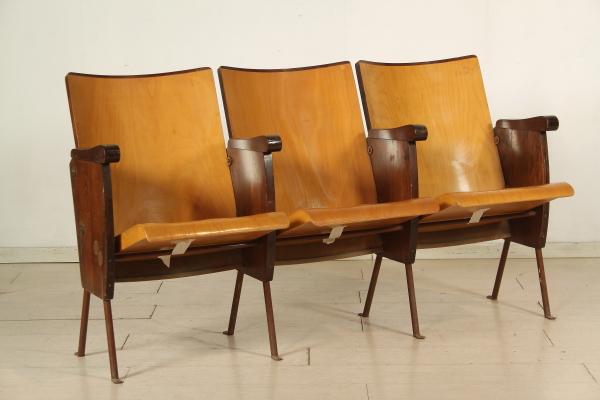 Sedie da cinema sedie modernariato for Seggiole moderne