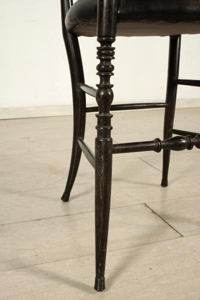 Gruppo 6 sedie chiavarine mobili in stile bottega del for Gruppo mobili