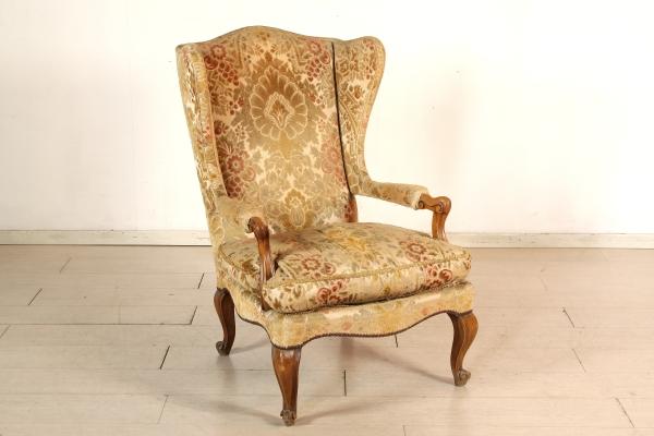 Poltrona stile barocchetto - Barocchetto - Bottega del 900 ...