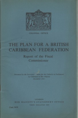 The plan for a British Caribbean federation