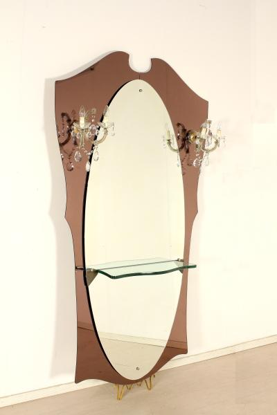 Specchio da parete anni 50 complementi modernariato - Specchio anni 50 ...