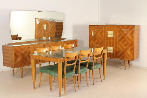 Vetri Per Credenza Anni 50 : Buffet anni 50 mobilio modernariato dimanoinmano.it