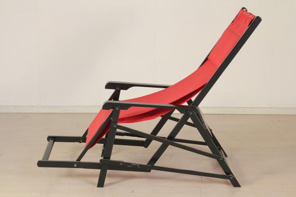 Sedia A Sdraio Tessuto : Sedia sdraio sedie modernariato dimanoinmano
