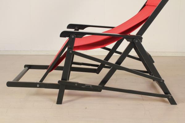 Sedie A Sdraio In Legno : Sedia sdraio sedie modernariato dimanoinmano