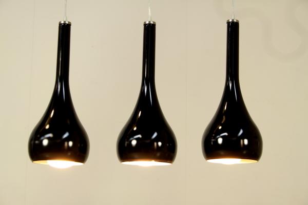 Lampada sospensione 3 luci - Illuminazione - Modernariato ...