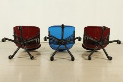 Sedie ufficio tecno sedie modernariato for Sedie ufficio vendita on line
