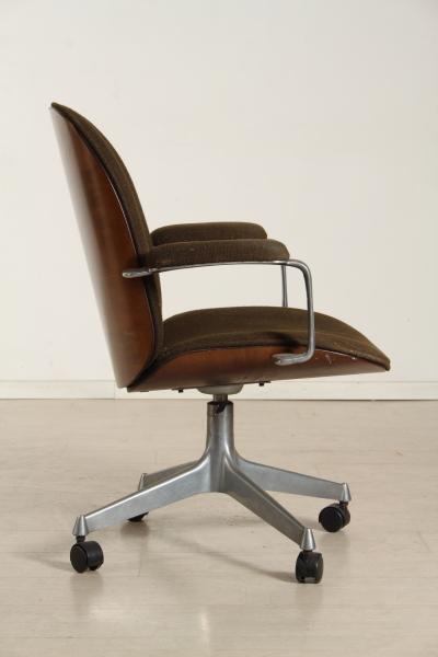 Sedia ufficio sedie modernariato for Sedia design anni 40