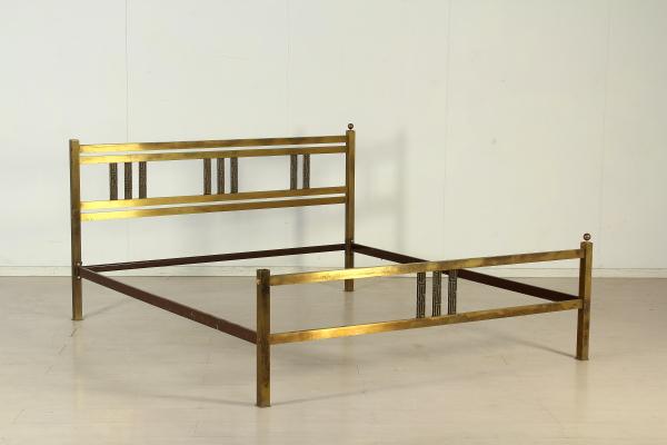 Letto in ottone mobilio modernariato - Letto in ottone rovinato ...