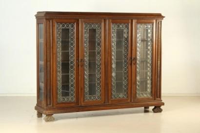 Credenza Con Vidrio : Biblioteca de estilo neorrenacentista neo renacentista bottega