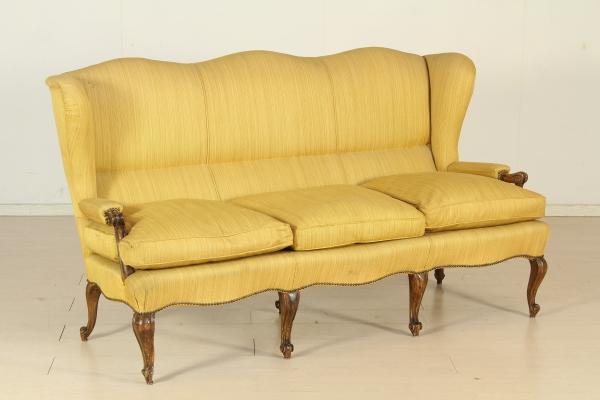 canap de style baroque tardif mort bottega del 900. Black Bedroom Furniture Sets. Home Design Ideas