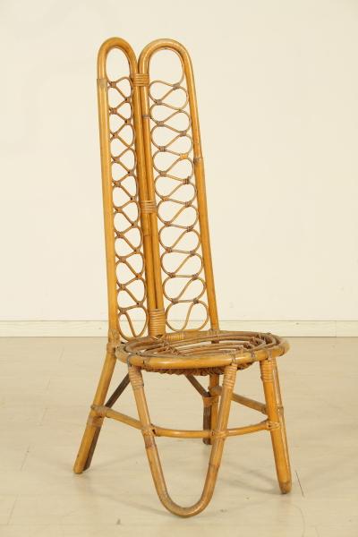 Sedia In Bamb Sedie Modernariato