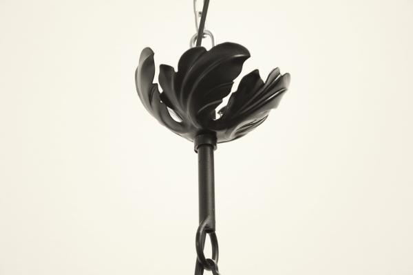 Lanterna Illuminazione : Lanterna sospensione in ferro battuto illuminazione bottega del