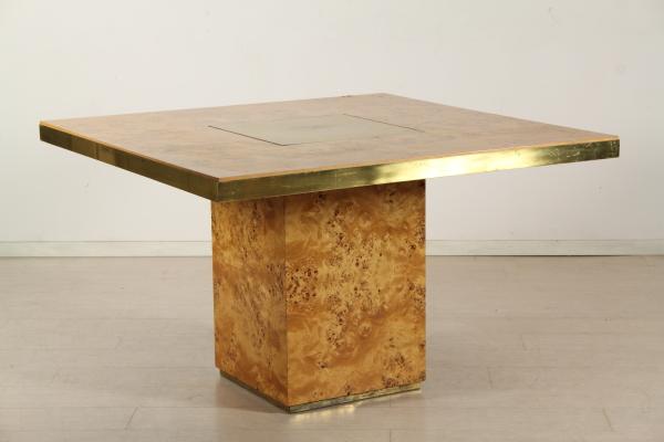 Tavolo nello stile di willy rizzo tavoli modernariato for Mobili willy rizzo