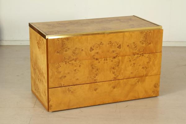 Cassettiera nello stile di willy rizzo mobilio for Mobili willy rizzo