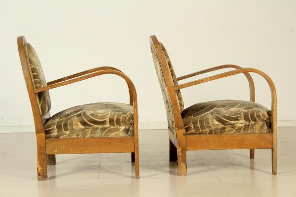 Salotto anni 20 30 divani modernariato - Divano anni 30 ...
