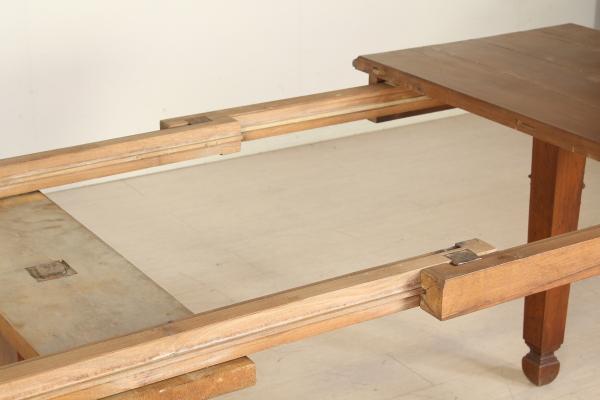 Tavolo allungabile umbertino bottega del 900 - Meccanismo per tavolo allungabile ...