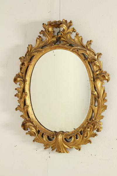 Specchiera dorata specchi e cornici antiquariato - Cornici specchi roma ...