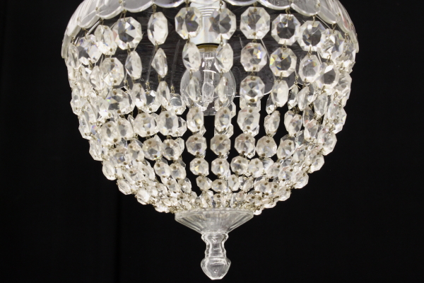 Kronleuchter Tropfen ~ Transparentes glas kronleuchter und tropfen in glas beleuchtung