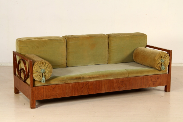 Wybitny Art deco sofa bed - Art Deco - Bottega del 900 - dimanoinmano.it RE98