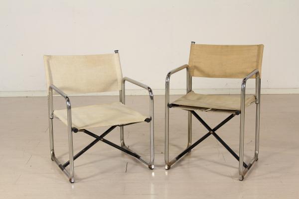 Sedie Pieghevoli Gialle : Sedie pieghevoli anni sedie modernariato dimanoinmano