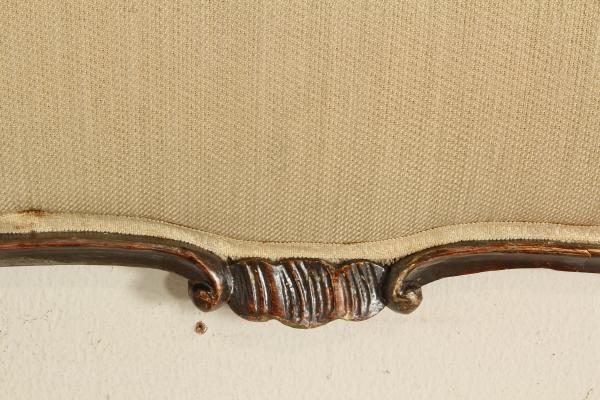 Testiera letto letti e testate antiquariato - Testiera letto legno ...
