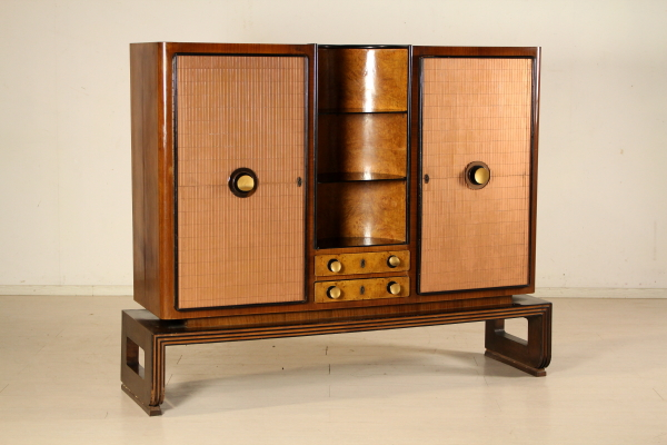 La Credenza Poesia : Credenza decò mobilio modernariato dimanoinmano