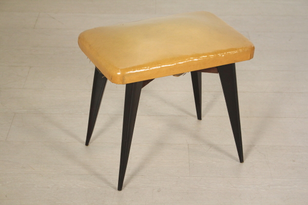 Sgabello anni 50 sedie modernariato dimanoinmano.it