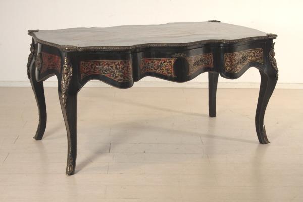 Arredamento Scrivania Antica : Scrivania in stile boulle mobili in stile bottega del