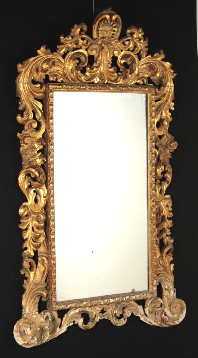 specchiera barocca specchi e cornici antiquariato