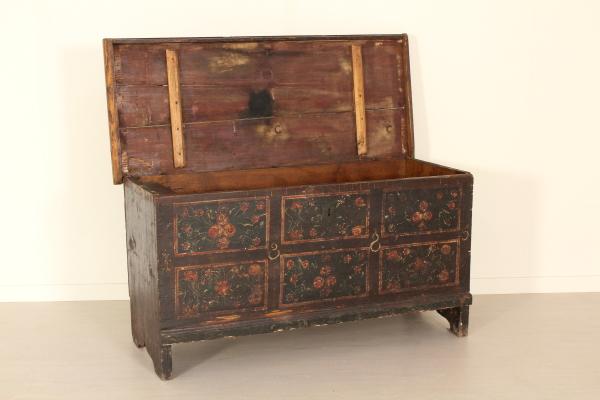 Cassapanca antica decorata design - Cassapanca decorata ...