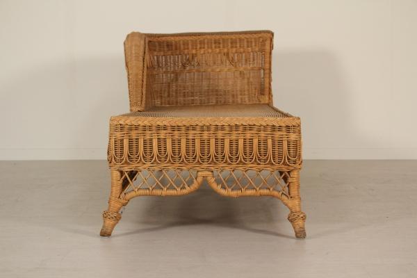 banquette lit en osier canap s design moderne. Black Bedroom Furniture Sets. Home Design Ideas