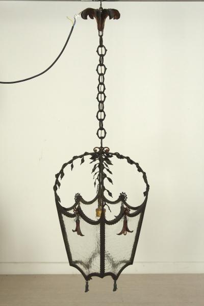 Lustre Lanterne En Fer Forge Eclairage Bottega Del 900