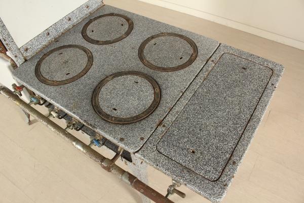Cucina a gas anni 50   mobilio   modernariato   dimanoinmano.it
