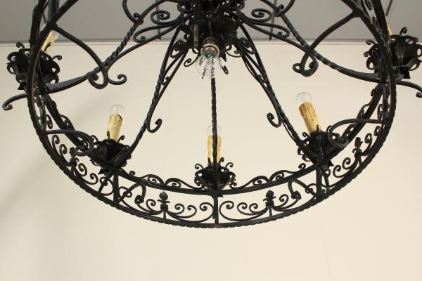 Lampadari In Ferro Battuto Bianco : Lampadari in ferro. ferro lampada luci ristorante scatola di vetro