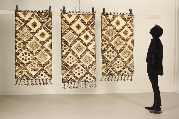 Tris tappeti Geometrico - Marocco - Tappeti - Antiquariato ...