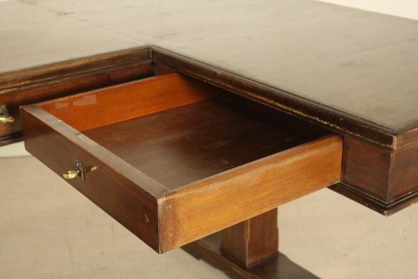 Scrivania a ferro di cavallo mobili in stile bottega del 900 - Divano a ferro di cavallo ...