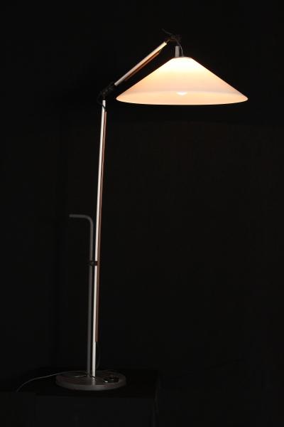 Lampada da terra artemide illuminazione modernariato for Lampada vela artemide