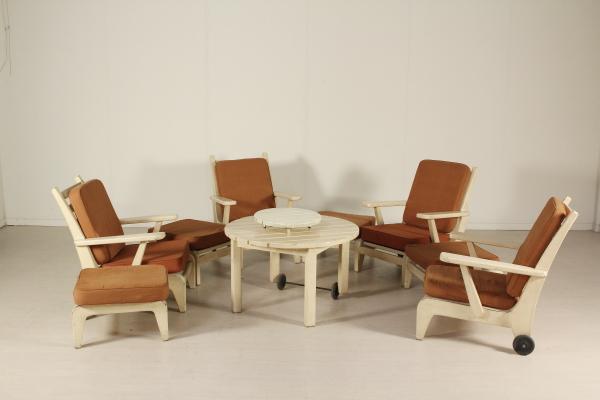 Anos de mobili rio de jardim 50 poltronas design for Mobiliario anos 50