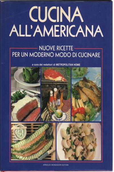 Cucina all 39 americana aa vv manualistica cucina - Cucina all americana ...