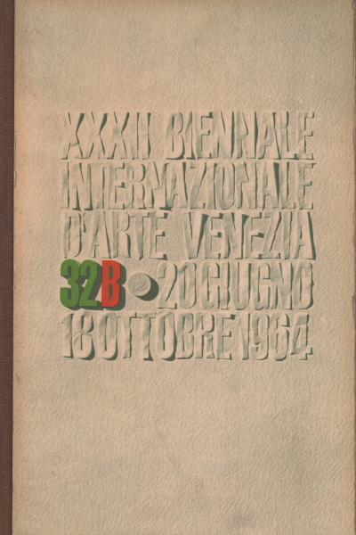 catalogo della xxxii esposizione biennale internazionale d