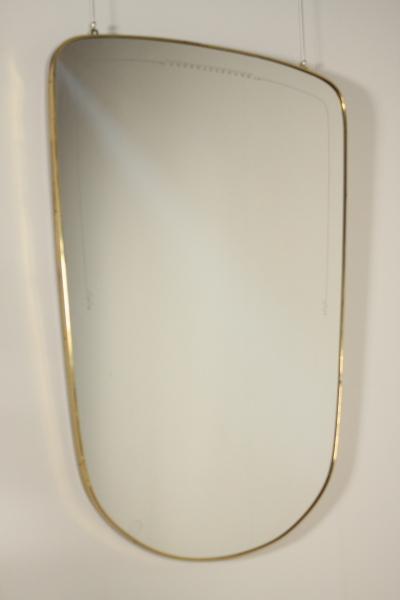 specchio anni 50 complementi modernariato
