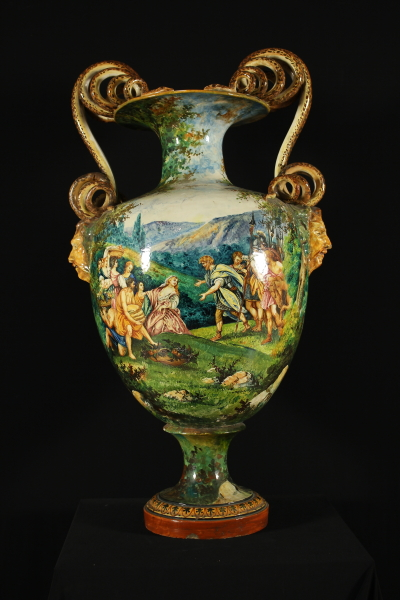 Grande vaso biansato produzione fratelli minardi for Vaso grande