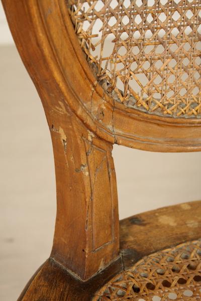 Chaise n oclassique tables de canap s fauteuils chaises antiquit s - Sillas de segunda mano en valencia ...