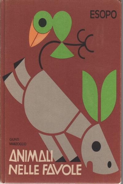 Animaux dans les contes de fées - Esopo - Illustrati - Des livres ...