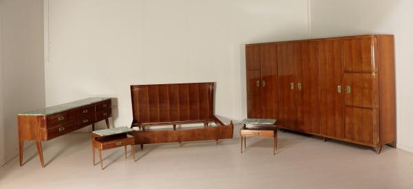 Cama doble de estilo Ico Parisi - Muebles - Diseño moderno ...
