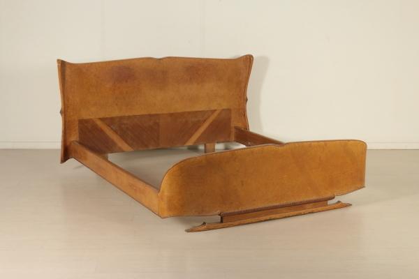 Letto matrimoniale anni 30 40 mobilio modernariato - Divano letto anni 30 ...