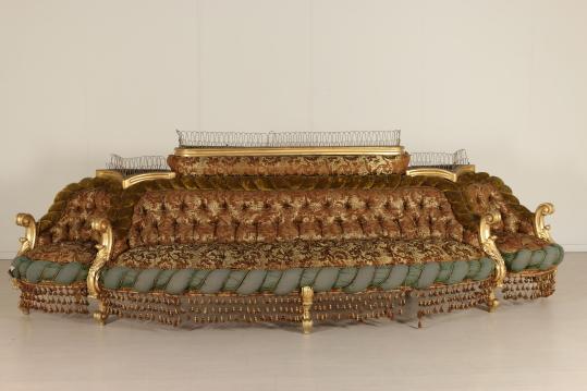 Salotto in stile Barocco - Arredi completi - Bottega del 900 ...