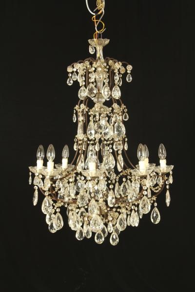 Lampadario otto bracci lampadari e lumi antiquariato for Lampadari circolari