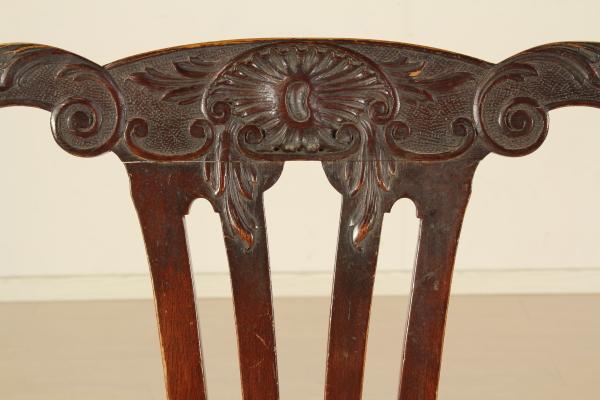 Sedie Stile Chippendale : Gruppo di otto sedie chippendale bottega del dimanoinmano